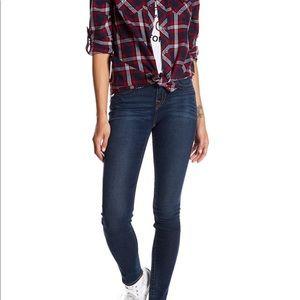 True Religion super skinny high waisted jeans
